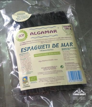 espaguetis de mar ALGAMAR paquete