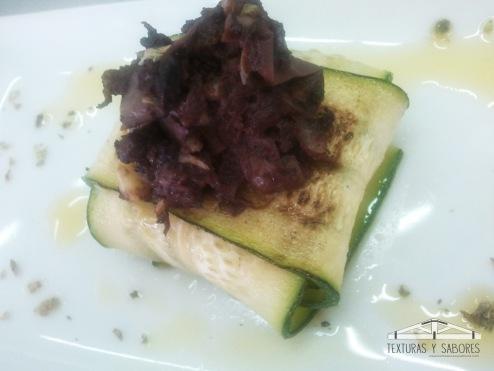 raviolis de zarangollo