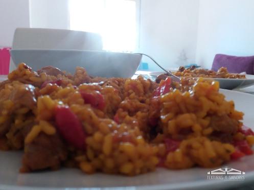 arroz con magra