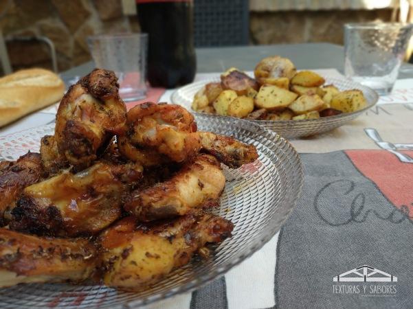 alitas de pollo adobadas0