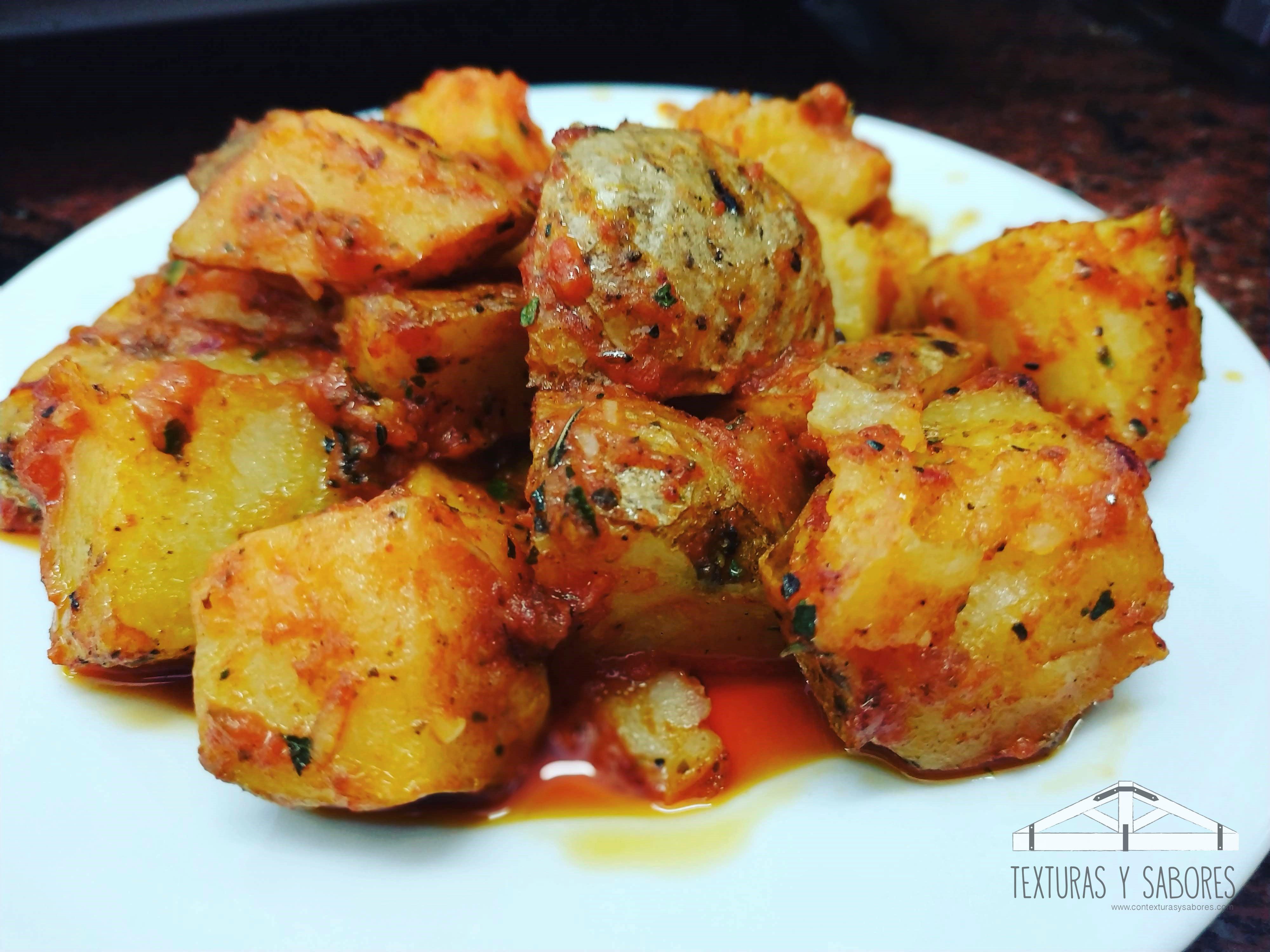 patatas adobadas con salsa brava
