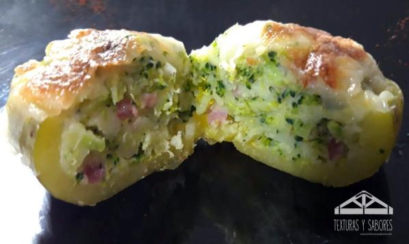 patata rellenas de brocoli 2